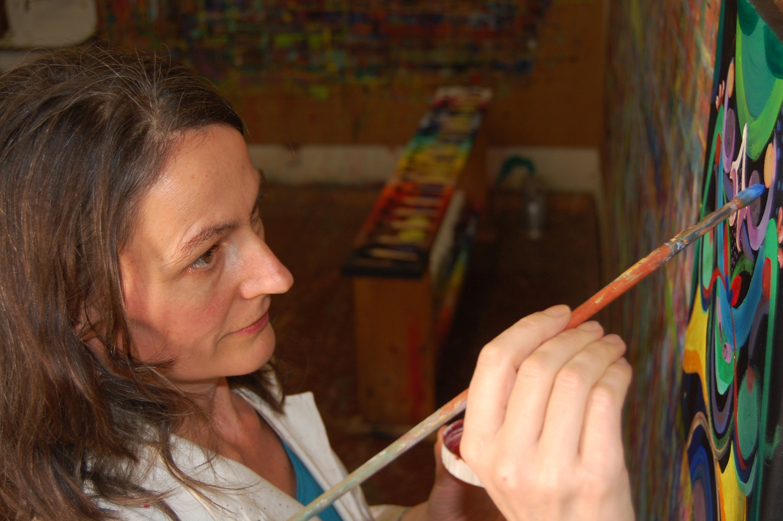 Christine Mann, Künstlerin, Malerin 1