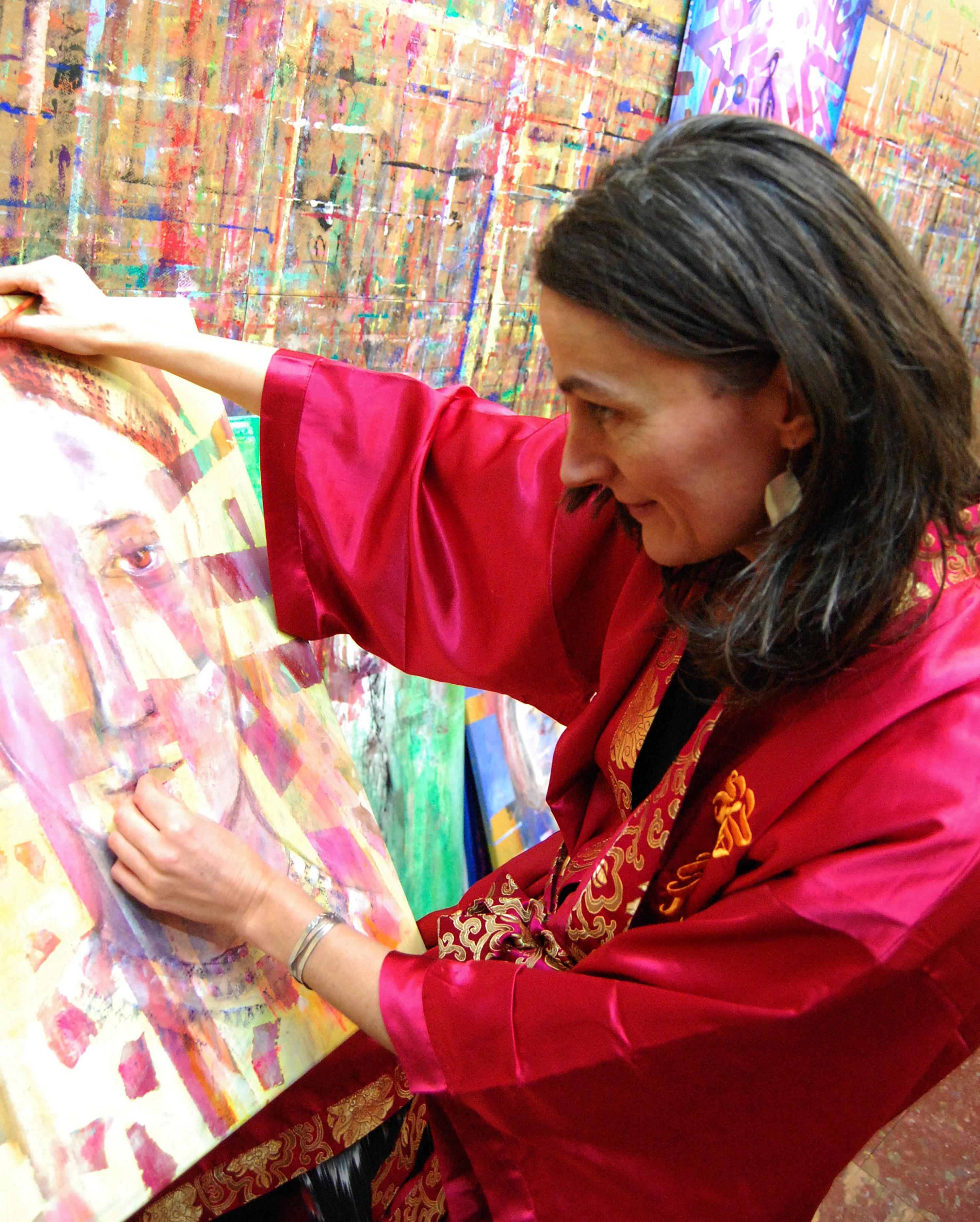 Christine Mann, Künstlerin, Malerin 5